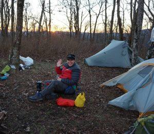 Alicia camping