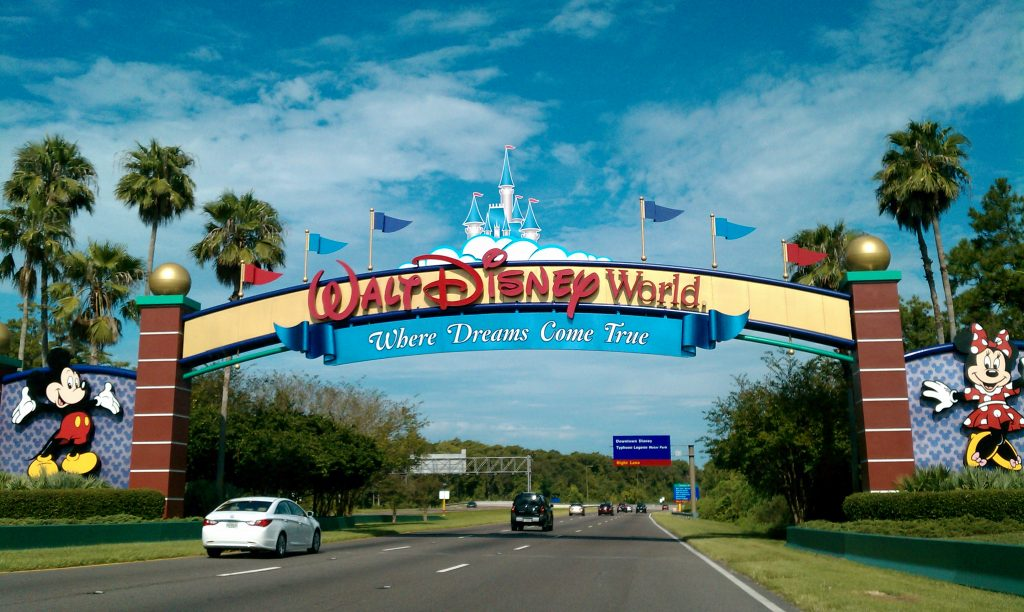 Walt Disney World Resort Entrance - Wikipedia